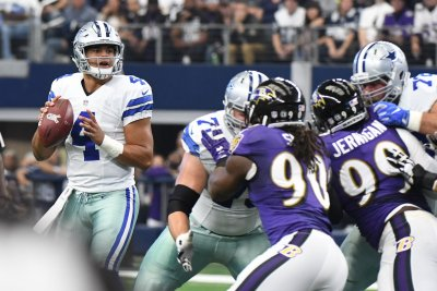 Dak Prescott's 3 TD passes carry Dallas Cowboys over Baltimore Ravens