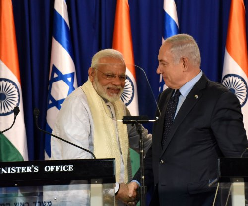 Israeli, Indian PMs agree to combat terrorism together