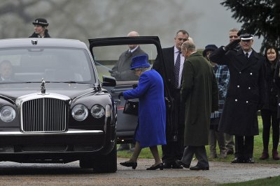 Britain's Prince Philip returns home after 4 weeks in London hospitals