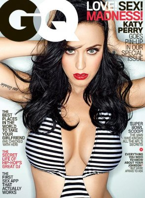 Katy Perry prayed for big breasts