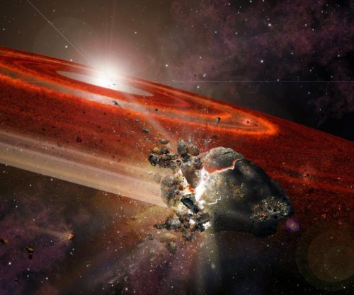 Astronomers spot Pluto-size objects swarming about young sun