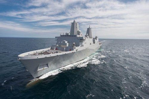 New U.S. Navy ship gets thumbs up after successful sea trials