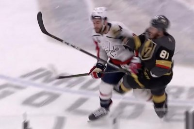 Capitals' Wilson blindsides Golden Knights' Marchessault