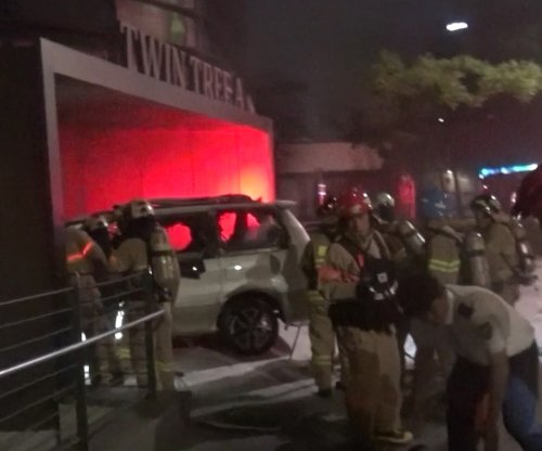 South Korean man dies after setting fire to his car near Japanese Embassy