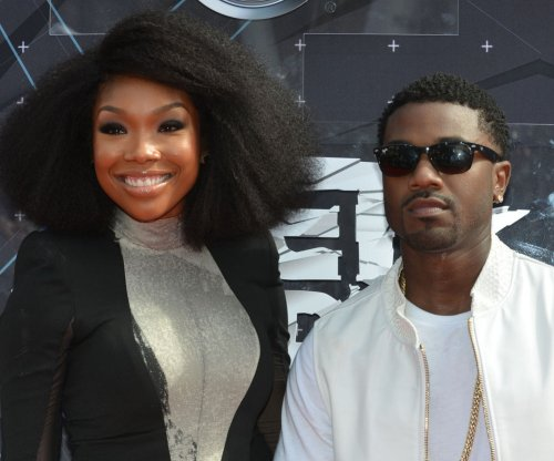 Brandy serenades Ray J and Princess Love on their wedding day