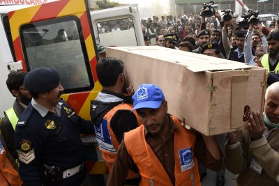Pakistan to exhume bodies of plane crash crew to check for drugs, poisoning