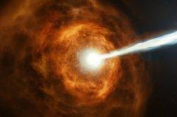 NASA telescope designed to find exoplanets captures gamma-ray burst