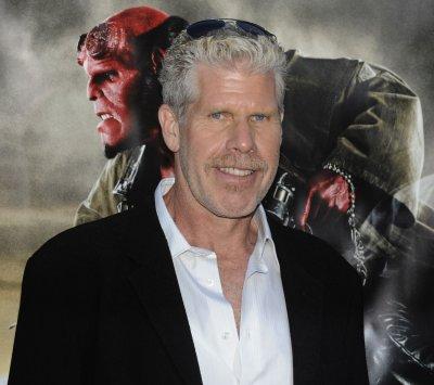 Hellboy himself hosts Make-a-Wish visitor