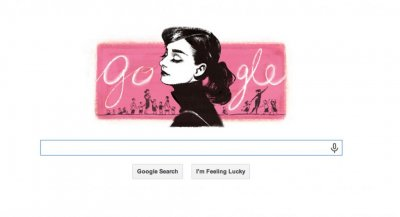 Audrey Hepburn remembered with Google Doodle