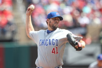Kyle Schwarber's home run carries John Lackey, Chicago Cubs to win over St. Louis Cardinals