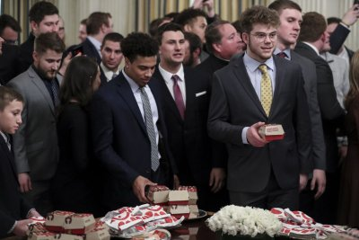 Trump, White House host FCS champs with another fast-food feast