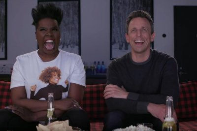 Leslie Jones hosts final 'Game of Jones' with Seth Meyers