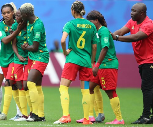 Women's World Cup: Cameroon coach slams refs after loss to England