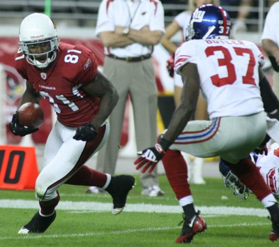 Cardinals' Boldin questionable for Sunday