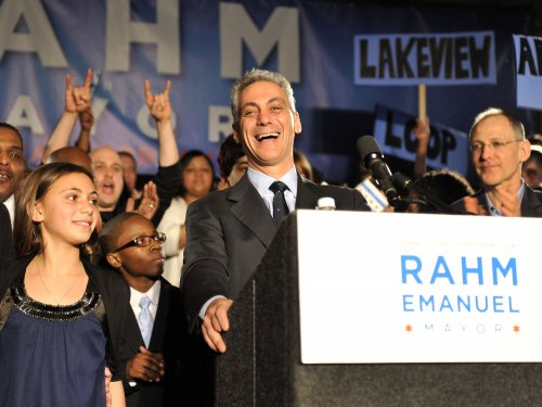 Rahm Emanuel next Chicago mayor