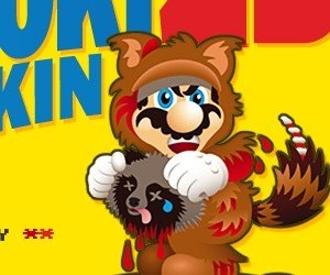 PETA takes aim at Mario's Tanooki suit