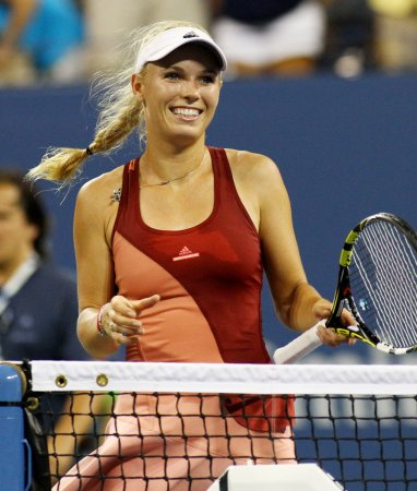 Caroline Wozniacki says she doesn't play tennis for the money