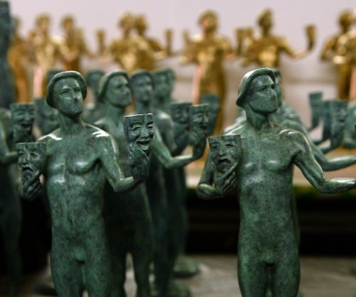 Bronze statuettes cast for 2015 Screen Actors Guild Awards