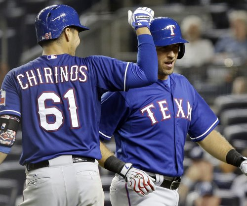 Texas Rangers rally to beat Cleveland Indians
