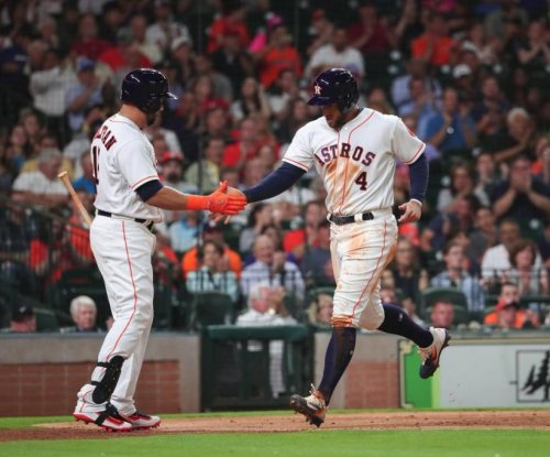 Houston Astros win fifth straight with shutout of Los Angeles Angels