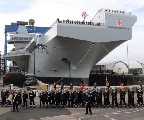 Britain names second new aircraft carrier