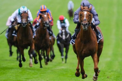 Serpentine wins Investec Derby at 25-1