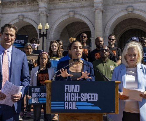 Democrats call for increased funding for high-speed rail system