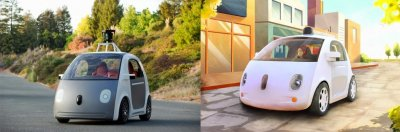 Google is developing a driverless car without pedals or a steering wheel