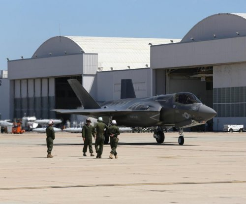 Crack discovered on F-35 test plane