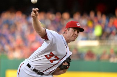 Stephen Strasburg, Washington Nationals too strong for Cleveland Indians