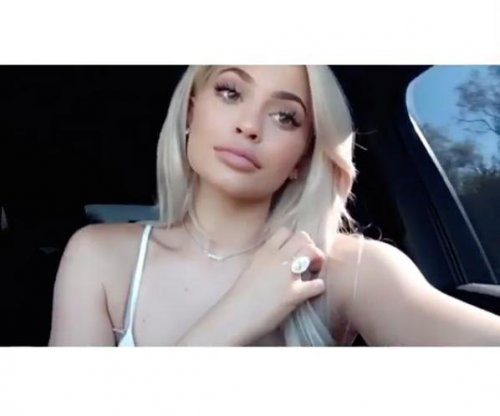 Kylie Jenner shows off ring, new necklace from Tyga