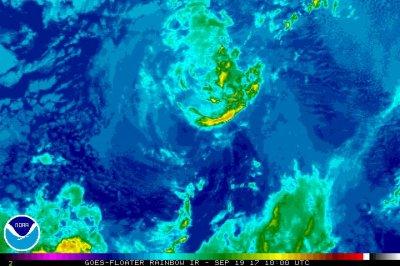Otis degenerates to remnant low in Pacific