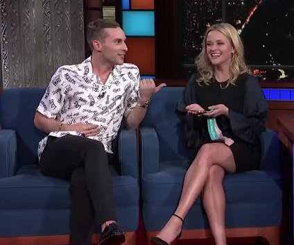 Reese Witherspoon meets Olympian Adam Rippon: 'This is meant to be'