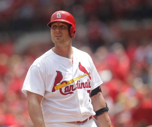St. Louis Cardinals' Holliday placed on DL