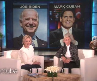Hillary Clinton narrows potential VP list in 'Ellen' appearance