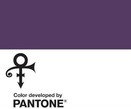 Pantone creates purple Love Symbol #2 color to represent Prince