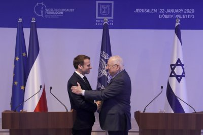 World leaders gather in Israel for the World Holocaust Forum
