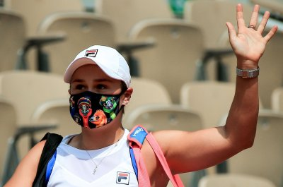 French Open tennis: No. 1 Barty exits, American Kenin advances