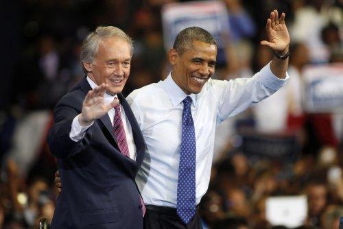 Obama visits Boston, stumps for Markey