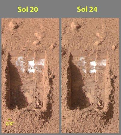 Phoenix lander to analyze Martian soil