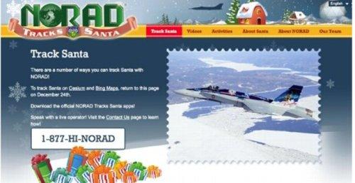 Bing maps, not Google, will track Santa
