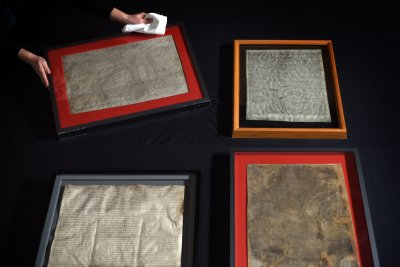 Four copies of the Magna Carta brought together for rare viewing