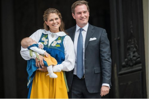 Sweden's Princess Madeleine gives birth to son