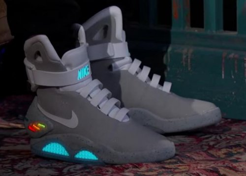 Nike produces 'Back to the Future' self-lacing sneakers