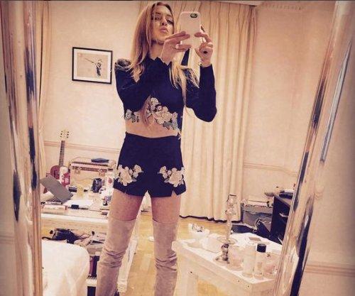 Lindsay Lohan channels Sharon Tate on Charles Manson's birthday
