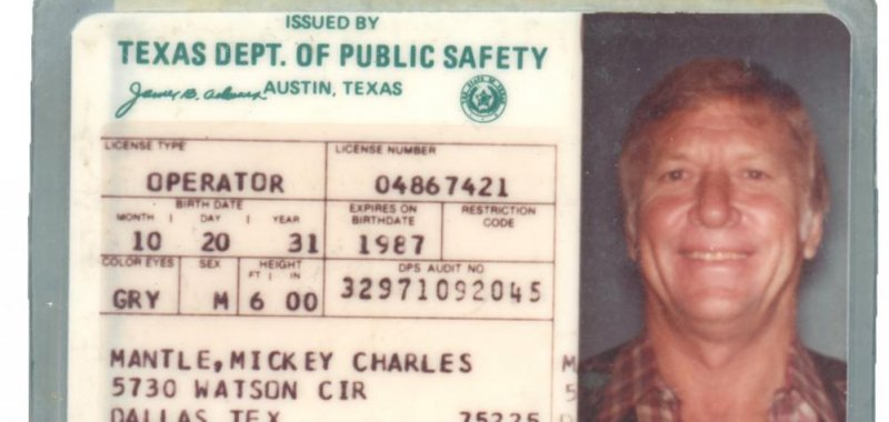 texas driving license over 25