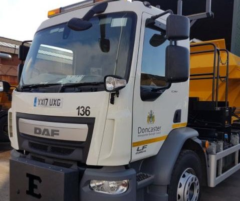 Town dubs salt-spreading vehicles 'David Plowie,' 'Gritsy Bitsy'
