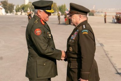 Joint Chiefs Chairman Gen. Milley meets with Israeli, Jordanian leaders