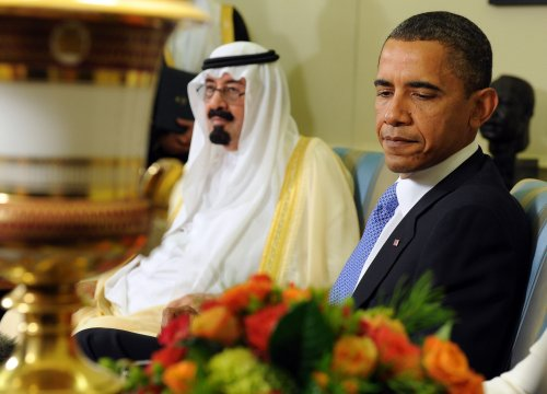 Obama, Abdullah extend G20 talks