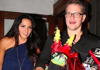 Matt Damon celebrates 44th birthday in LA